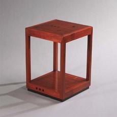 Table de chevet Art Déco / Table de nuit Ascot Gauche
