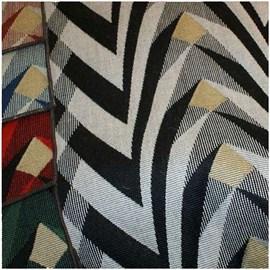 Tissu d'ameublement en laine parabolique