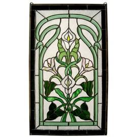 Tiffany Décoration de fenêtre Calla