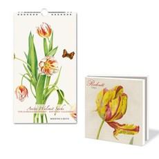 Calendrier et cartes d'anniversaire Tulipes