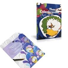 Set Book Theo Colenbrander & Art Nouveau Colouring Book