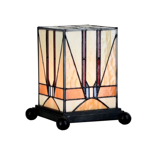 Petite lampe de table Tuschinski Tiffany
