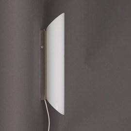 Lampe Murale Tube Rond Opale