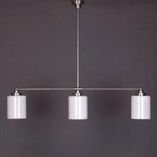 Lampe Suspension 3-Lumières avec Cylindre Lisse