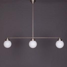 Suspension 3 Lumières avec Globe en 3 tailles