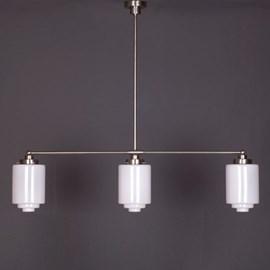 Suspension 3 Lumières avec Cylindre Etagé