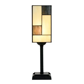 Lampe de table Tiffany Mondrian