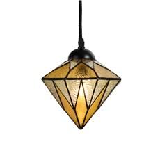Tiffany Lampe de Pédalier Aiko Jaune