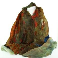 Foulard Monet'Marche dans le champ du coquelicot'.
