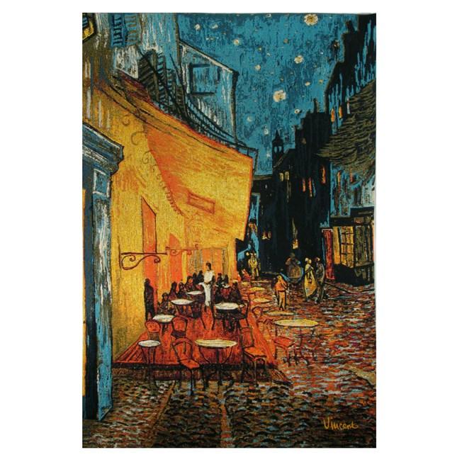 Terrasse du Wall Tapestry Café le soir | Vincent van Gogh