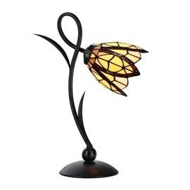 Tiffany Lampe de table Lovely Flow Souplesse petit modèle