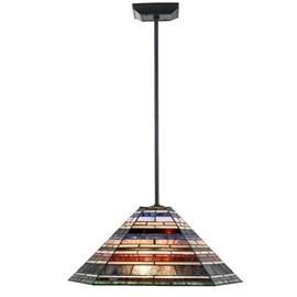 Lampe pendentif Tiffany Lampe pendulaire industrielle grand modèle