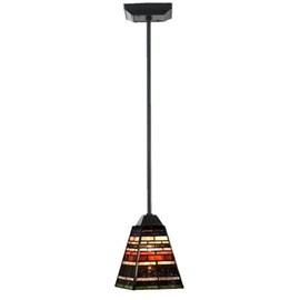 Tiffany Lampe pendentif industriel petit pendule