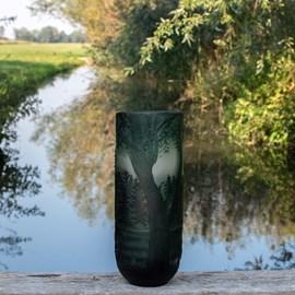 Vase Rêve de pin vert