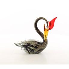 Sculpture sur verre Oiseau d'eau