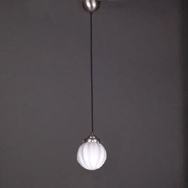 Pendentif Lampe Lin Vieux Cordon Vintage Carambole