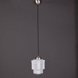 Pendentif Lampe Lin Vieux Cordon Vintage Apollo