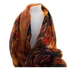 Echarpe Klimt Colorée